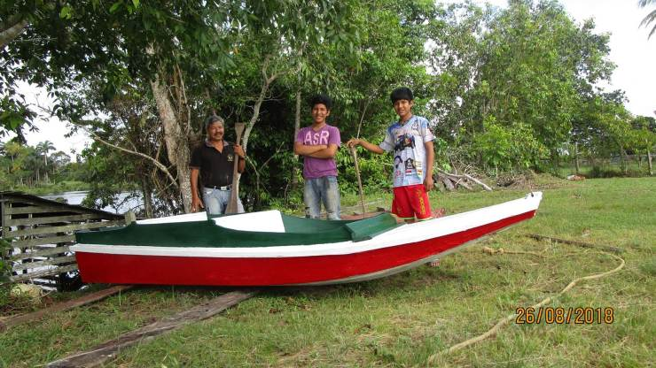 BOAT NOW NEEDS AN ENGINE FOR TRAVELS TO COLLECT MISSIONARIES EQUIPMENT TOOLS AND FOOD
